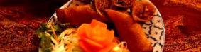 เปาะเปียทอดポーピア・トート(タイの揚げ春巻き)750円