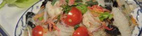 ยำวุ้นเส้นヤムウンセン(タイの春雨サラダ)750円