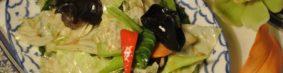 ผัดผักรวมมิตรパッパックルアンミッ(野菜炒め)680円